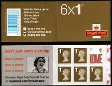 2007. SA1 Love self-adhesive booklet. Fine and complete! SCARCE!