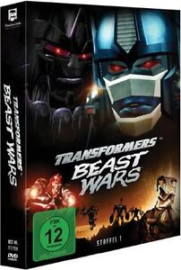 Transformers Beast Wars season 1 TV series  26Episodes 5 DVD Region 2(UK)