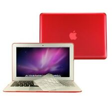 "2 in 1 Crystal RED Hard Case for Macbook AIR 13"" A1369 with TPU Keyboard Cover"