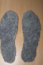 quality handmade 100% genuine sheepskin thermal insoles size uk6 eu39