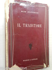 IL TRADITORE Ruth Chatterton Agnese Silvestrini Giorgi Baldini Castoldi 1954 di