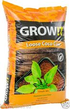 HydroFarm GROW!T Premium Coconut Coco Coir Loose 1.5 CF Bag SAVE $$ W/ BAY HYRO