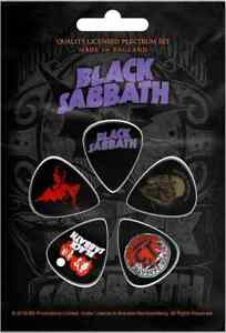 Black Sabbath 5 Plectre Paquet (Ro