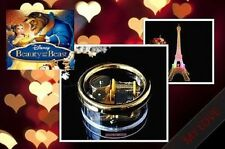 Led Light Eiffel Tower Wind Up Music Box : Beauty And The Beast Theme Song