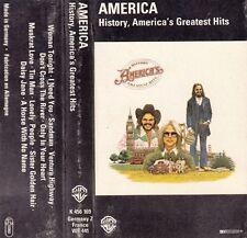 K 7 AUDIO (TAPE)  AMERICA  *HISTORY, AMERICA'S GREATEST HITS*