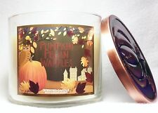 1 Bath & Body Works PUMPKIN PECAN WAFFLES 3-Wick Large Scented Candle 14.5 oz