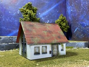 Painted Faller Structure Ho Scale For Dioramas Or Displays