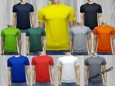 Men's Summer Plain T-shirt   **100% Cotton**