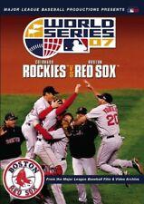 World Series 2007 Colorado Rockies Vs Boston Red Sox DVD David Gavant NEW