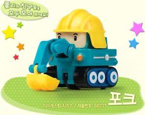 Academy Robocar Poli Diecast Series Mini Figures - POKE Korean TV Animation Toy