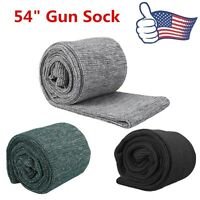 "US STOCK Silicone Treated Gun Sock 54"" RIFLE SHOTGUN Storage Case Firearm Sleeve"