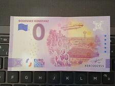 BILLET EURO SOUVENIR 2021-1 ALLEMAGNE BODENSEE KONSTANZ