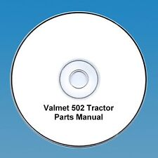 Valmet 502 Tractor Parts  Manual