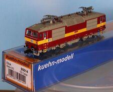 Kühn 95014, Spur N, E-Lok CD Cargo BR 372, rot-gelb, Epoche 5