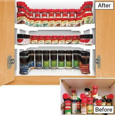 TOP sale Spicy Shelf Spice jar Spice Rack and Stackable Organizer New