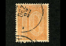 GERMANY #O3 Used Postage OFFICIAL STAMPS 1921 Orange