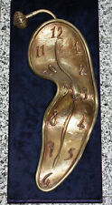 """Salvador Dali Bronze """"Time In The Fourth Dimension"""""""