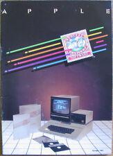 Apple Special Delivery Software catalog 16 leaf 32 sides Europe 1981