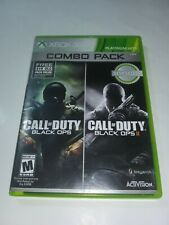 Black Ops Combo Pack Xbox 360 Complete Both Discs Are Mint Very Fast Shipping