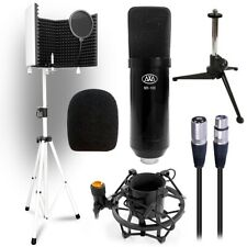 AxcessAbles SF-101Kit Isolation Shield Stand, MX100, Tripod, Shock Mount,Filter