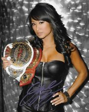 GAIL KIM TNA KNOCKOUT SIGNED AUTOGRAPH 8X10 PHOTO #2 W/ PROOF