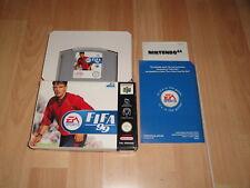 FIFA 99 DE EA ESPORTS PARA LA NINTENDO 64 N64 USADO COMPLETO EN BUEN ESTADO
