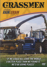 Grassmen Rain And Grain DVDs/Tractors/Harvesters/Farming/Irish/Machinery/Ireland