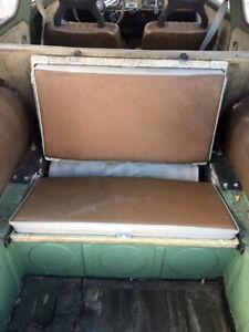 Vintage Saab 95 Estate Wagon Rear Back Jump Seat Rear Facing Fold Down