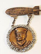 Graf Zeppelin 1. IVV Volkswanderung 1978 Commemorative Medal Pin