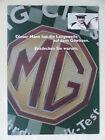 MG F MGF Roadster - Der Fahrdynamik-Test - Prospekt Brochure 2001
