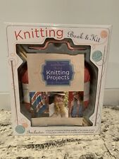 Knit Simple Knitting Book & Projects Kit Mud Puddle Inc 2012 Needles Yarn Etc.
