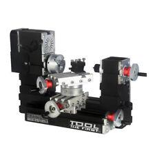 Mini Wood Metal Rotating Lathe Motor Larger Processing Radius DIY Tools 12000rpm