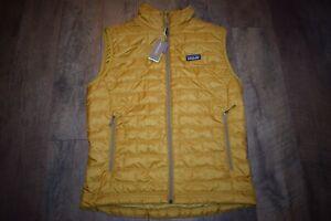 Patagonia Men's Nano Puff Vest Size Medium 84242 (Buckwheat Gold) NWT