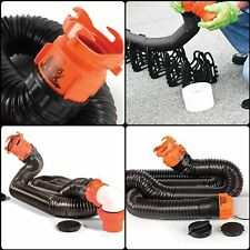 Durable Camco RhinoFLEX RV Sewer Hose Kit Trailer Camper Parts Accessories Set