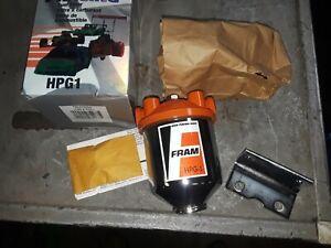 BRAND NEW ORIGINAL FRAM HPG1 racing fuel filter IN BOX