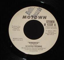 "SEVERIN BROWNE "" ROMANCE "" MOTOWN PROMO 45 1970s Soft rock Jackson Browne"