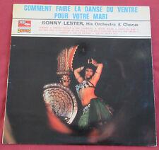 SONNY LESTER  LP ORIG FR COMMENT FAIRE LA DANSE DU VENTRE POUR VOTRE MARI