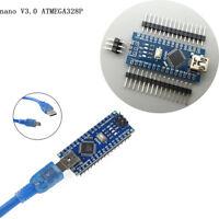 MINI/MICRO USB Nano V3.0 ATmega328P 5V 16M Micro-controller board Arduino HQ