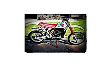 1990 yz490 Bike Motorcycle A4 Photo Poster