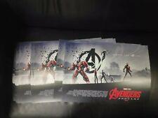 Marvel Avengers Endgame Official Odeon Poster Design 2 Of 2 By Matt...