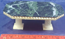 Dollhouse Miniature Furniture MARBLE TOP Kitchen TABLE. (PLASTIC). IDEAL: JAPAN