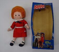 "VINTAGE Knickerbocker The World Of Annie Rag Doll 16"" Original box"