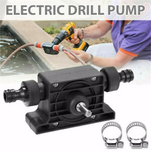 Portable Electric Drill Pump Self Priming Transfer Pump for Oil Water Liquid