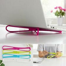 Laptop Stand Bracket Cooling Holder Macbook Notebook Desk Tablet Pad Dock PC Set