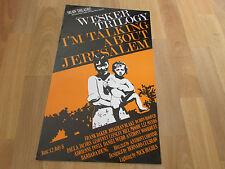 WESKER Trilogy  I'm Talking about JERUSALEUM Shaw Theatre LONDON Original Poster