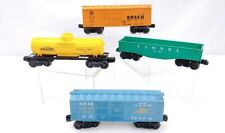 Lionel Trains lot Of 4 Freight Boxcar Gondola Tank 0 Scale