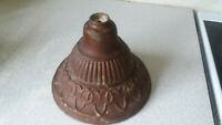 ANTIQUE  OIL TABLE LAMP BASE-  -6  INCHES TALL