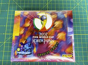 2002 Panini Fifa World Cup Korea Japan Trading Cards New Sealed Box US Seller
