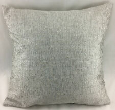 Light Grey Colour with Silver Sparkle Reversible Evans Lichfield Cushion Cover