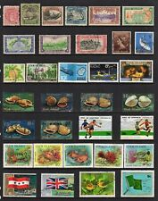 COOK ISLANDS COLLECTION, 4 Pages of Good/Fine Used Stamps (108 TOTAL)